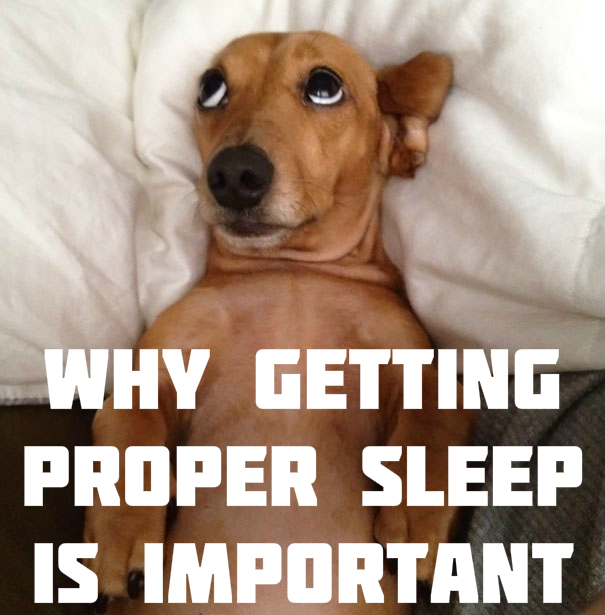 Why Getting Proper Sleep is Important
