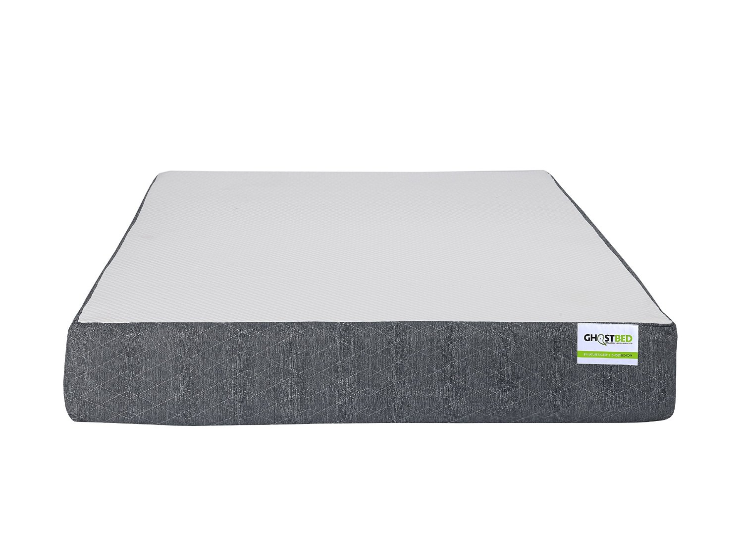 GhostBed Mattress Review, ghostbed mattress reviews, girl on the mattress