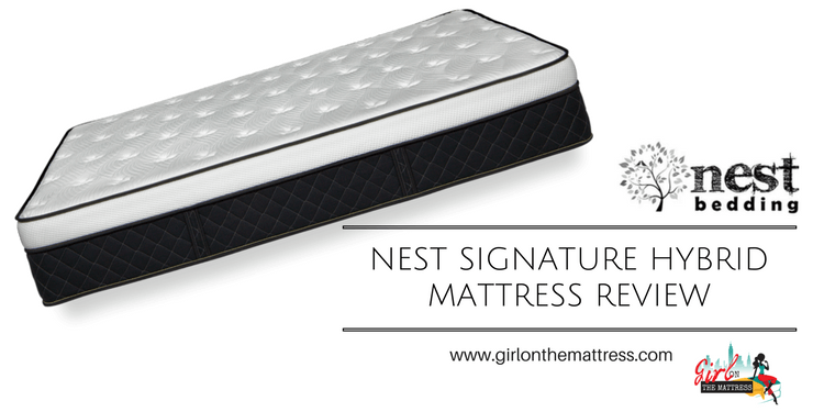 Nest Alexander Hybrid Mattress Review Girl On The Mattress