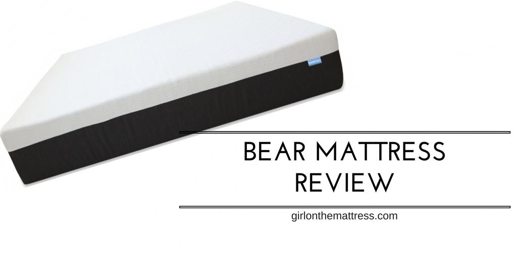 Bear Mattress Review - Girl on the mattress - reviews