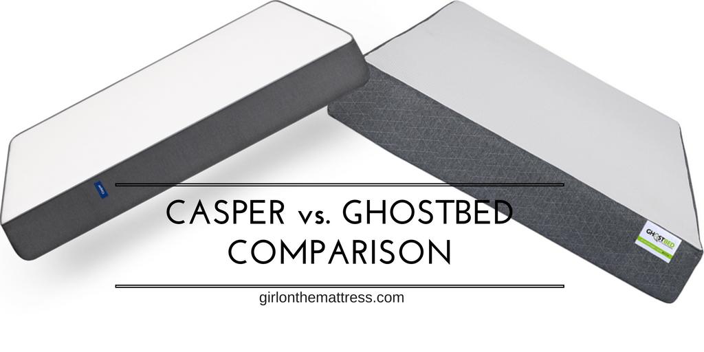 Casper Vs GhostBed Mattress Comparison Review