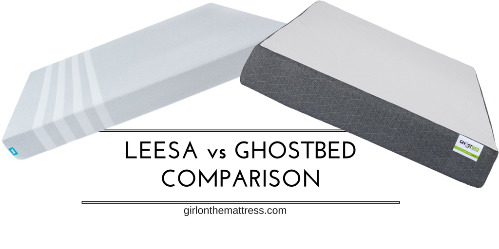 Leesa vs Ghostbed Mattress Comparison Review