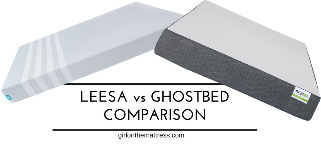 Leesa vs Ghostbed Mattress Comparison
