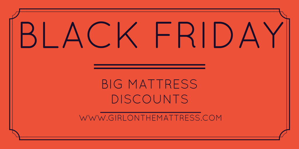 BLACK FRIDAY / CYBER MONDAY MATTRESS SALES AND DEALS 2016