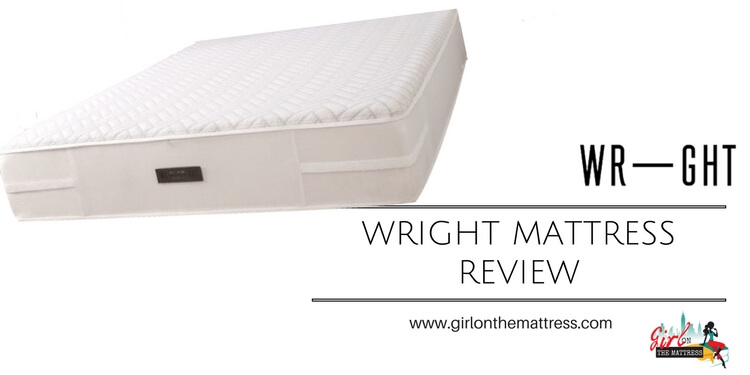 Wright Mattress review, wright mattress reviews, wright reviews, wright sleep, girl on the mattres