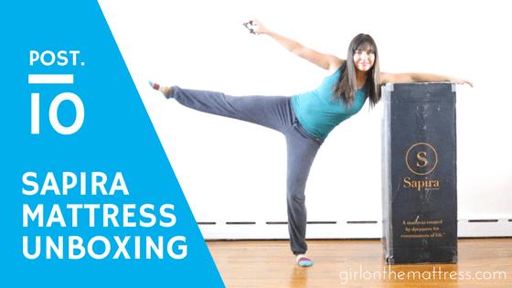 Sapira Mattress Unboxing – and a fun video review