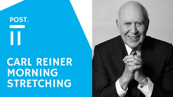 Carl Reiner's Secret: Watching Carl Reiner on Conan and….. His Secret on being 95 Years Old!!