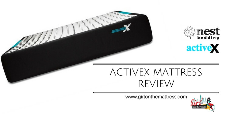 activex mattress review, activex mattress, online mattress reviews, girl on the mattress