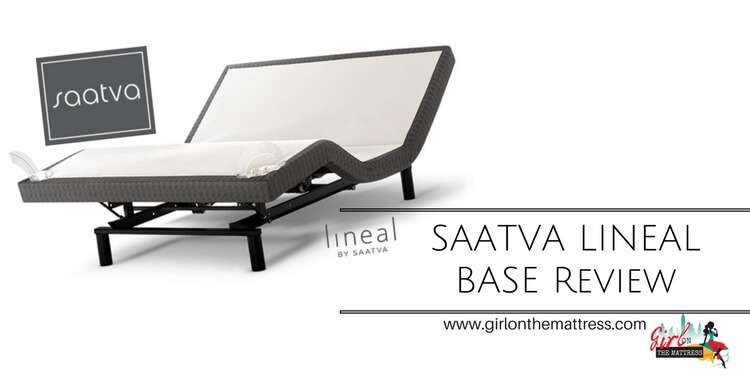 Saatva Lineal Adjustable Bed Review Massage For Your