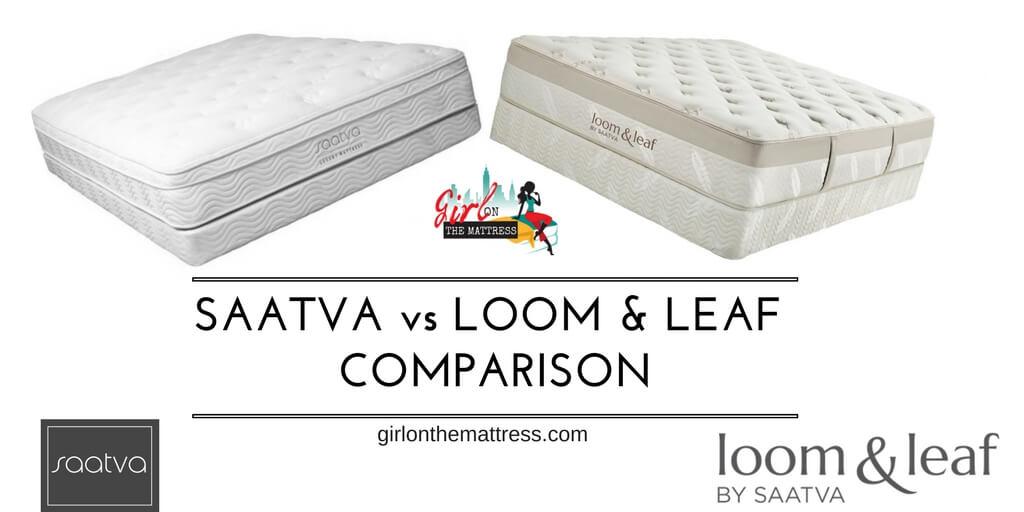Saatva vs Loom and Leaf Mattress Comparison