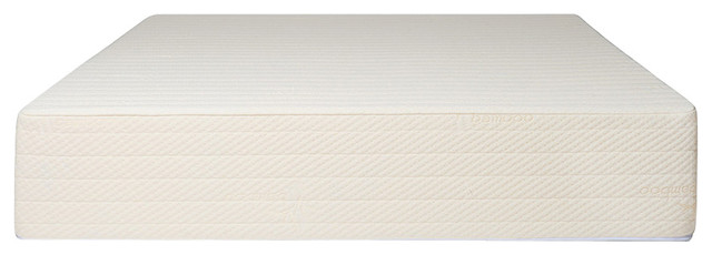 Brentwood Home Bamboo Gel 11 Memory Foam Mattress, girl on the mattress, brentwood mattress reviews