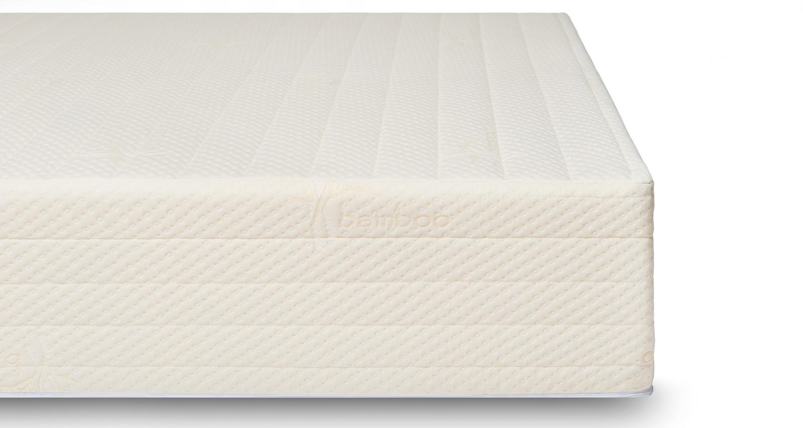 Brentwood Home Bamboo Gel 13 Memory Foam Mattress, girl on the mattress, brentwood home mattress reviews