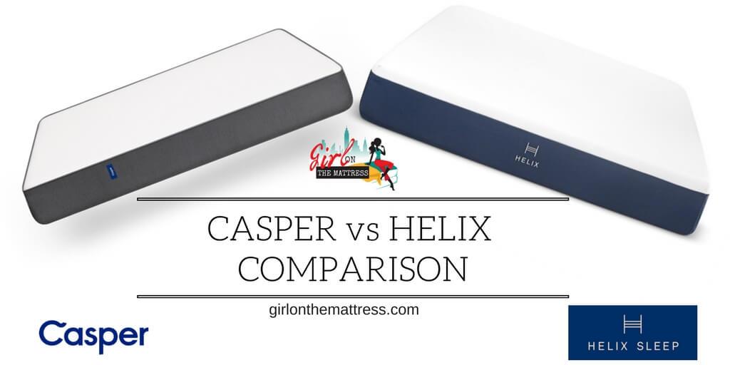 Casper vs Helix Mattress Comparison – Universal or Unique?