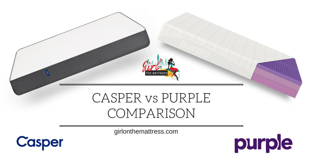 Casper vs Purple Mattress Comparison