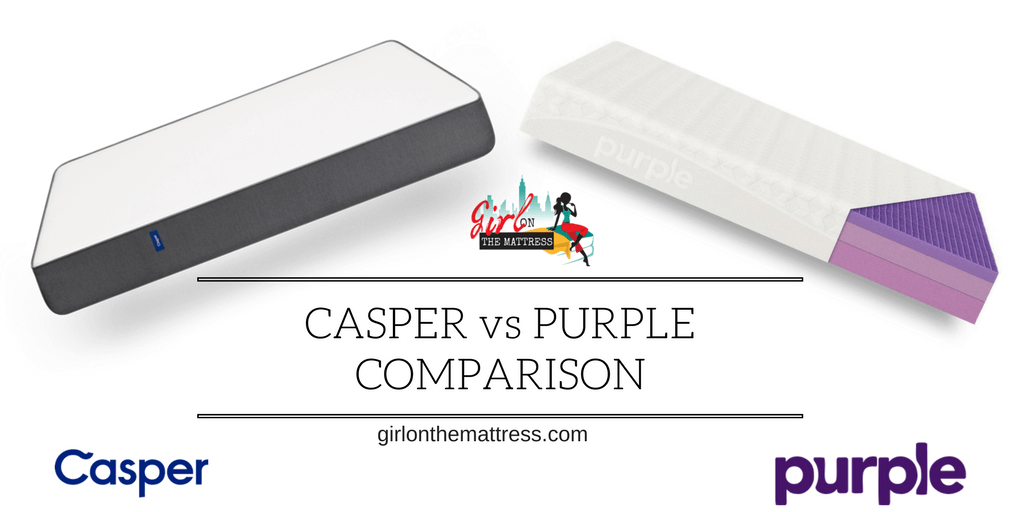 Casper vs Purple Mattress Comparison
