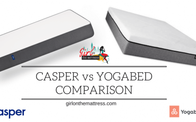 Casper vs Yogabed Comparison