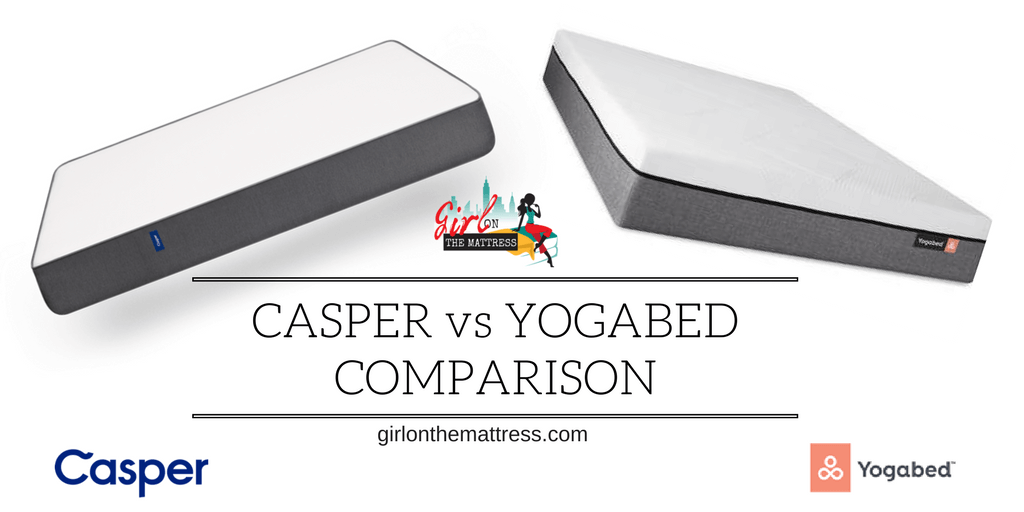 Casper vs Yogabed Comparison