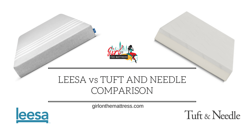 Leesa vs Tuft and Needle Comparison