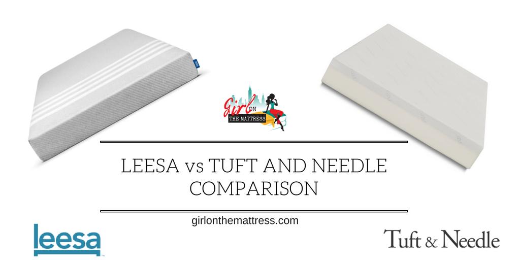 Leesa vs Tuft and Needle Comparison