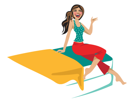 girl-on-the-mattress, online mattress reviews