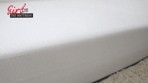 eight mars mattress review, eight sleep reviews, eight mars mattress reviews, girl on the mattress 3