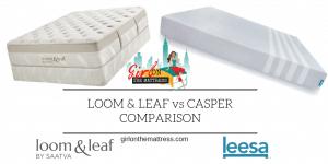 Leesa vs Loom and Leaf, Leesa vs Loom & Leaf, Leesa vs Loom and Leaf comparison, Loom and Leaf vs Leesa, Loom & Leaf vs Leesa, Leesa or Loom and Leaf
