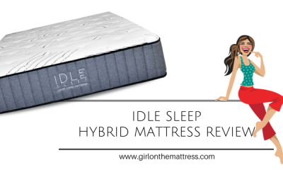 Idle Sleep Hybrid Mattress Review – Double Sided Bed??