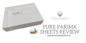 Pure Parima Sheets Review, Pure Parima Review, Pure Organic Egyptian Cotton Sheets, Girl On The Mattress 2