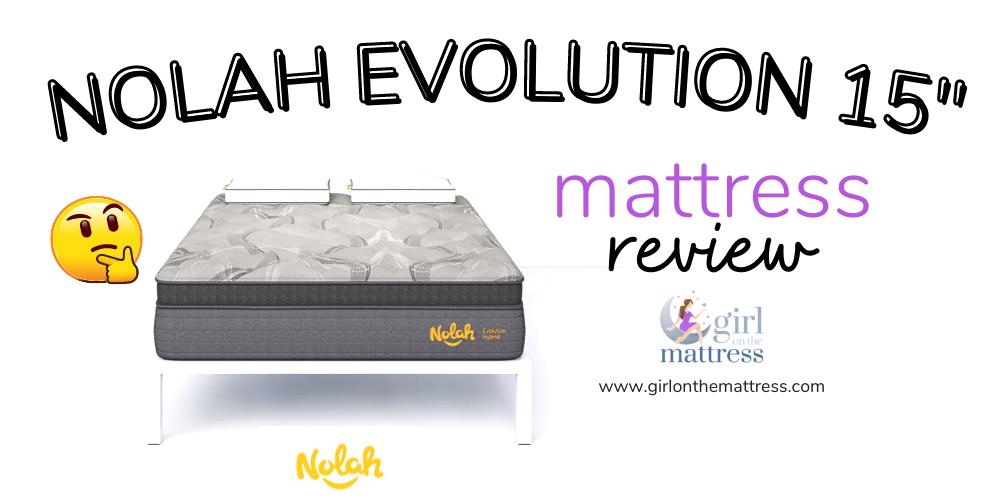 Nolah Evolution Mattress Review