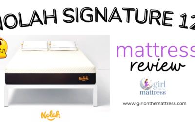 Nolah Signature 12 Review – The Most Comfortable Flipabble Mattress?