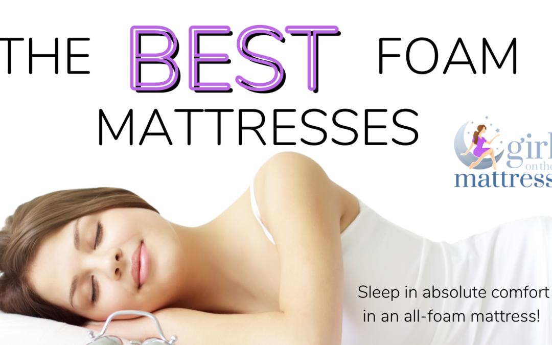 Best Foam Mattresses Online – Finding the Ultimate Foam Mattress for Sleeping Soundly